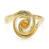 AAA Spessartite Silver Ring