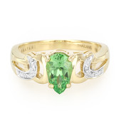 18K Kenya Tsavorite Gold Ring