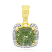 18K Madagascan Demantoid Gold Pendant