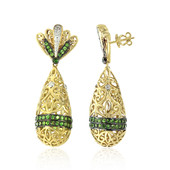 14K Tsavorite Gold Earrings (Dallas Prince Designs)