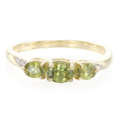 9K Demantoid Gold Ring