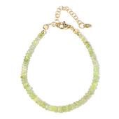 Cat´s Eye Chrysoberyl Silver Bracelet