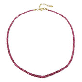Madagascar Ruby Silver Necklace