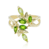 9K Peridot Gold Ring