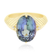 18K Chameleon Tanzanite Gold Ring (de Melo)