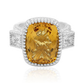 Mandarin Citrine Silver Ring (Dallas Prince Designs)