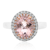14K Morganite Gold Ring (CIRARI)