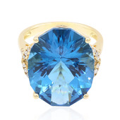 14K London Blue Topaz Gold Ring (CIRARI)
