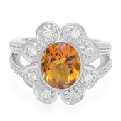 9K Madeira Citrine Gold Ring