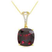 18K Spessartite Gold Necklace