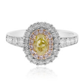 18K SI Green Diamond Gold Ring (CIRARI)