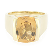9K Yellow Beryl Gold Ring