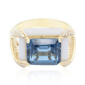 14K Agate Gold Ring (CIRARI)