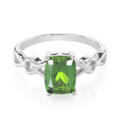 Russian Diopside Silver Ring (Molloy)