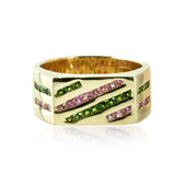 14K Pink Tourmaline Gold Ring (de Melo)