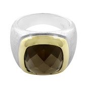 Smoky Quartz Silver Ring (Cavill)
