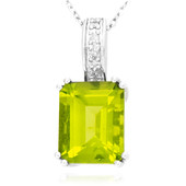 9K Peridot Gold Necklace