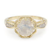 9K Oregon Ice Opal Gold Ring