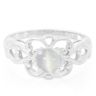 Ceylon Cat´s Eye Moonstone Silver Ring