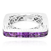 Zambian Amethyst Silver Ring (Dallas Prince Designs)