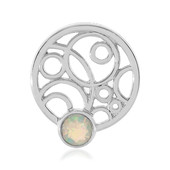 Welo Opal Silver Pendant (MONOSONO COLLECTION)