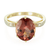 10K AAA Red Apatite Gold Ring (Molloy)