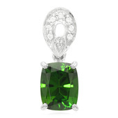 Russian Diopside Silver Pendant (Molloy)