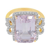 9K Brazilian Kunzite Gold Ring