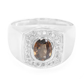 9K Cinnamon Zircon Gold Ring