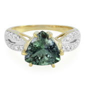 18K Green Tanzanite Gold Ring
