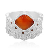 Carnelian Silver Ring (MONOSONO COLLECTION)