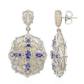 Mother of Pearl Silver Earrings (Dallas Prince Designs)