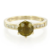 9K Cuprian Tourmaline Gold Ring
