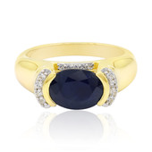 9K Blue Sapphire Gold Ring (Remy Rotenier)
