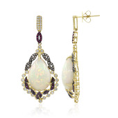 18K AAA Welo Opal Gold Earrings (CIRARI)