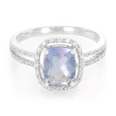 Colour Change Fluorite Silver Ring (Cavill)