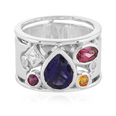 Iolite Silver Ring (Memories by Vincent)