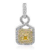 18K SI Yellow Diamond Gold Pendant (CIRARI)