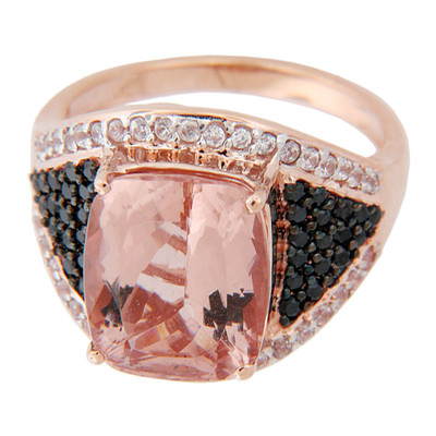 14K Morganite Gold Ring (Lance Fischer)