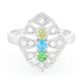 Demantoid Silver Ring (Cavill)
