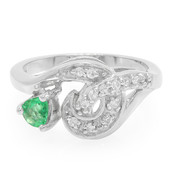 Transvaal Emerald Silver Ring (Molloy)