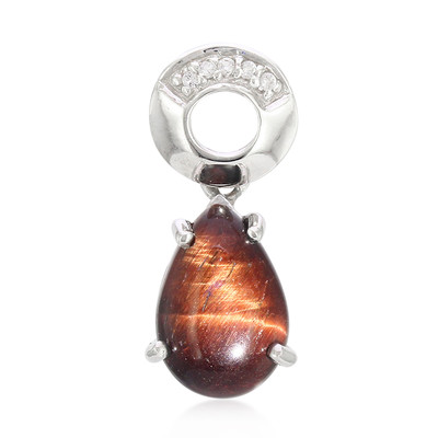 Red Tiger´s Eye Silver Pendant