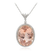 14K Morganite Gold Necklace