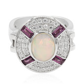 Welo Opal Silver Ring (Memories by Vincent)