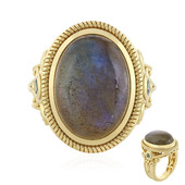 Labradorite Silver Ring (Memories by Vincent)