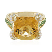 9K Citrine Gold Ring (Adela Gold)