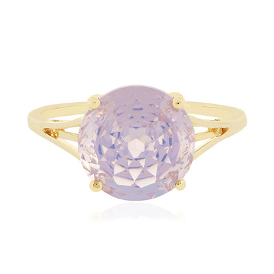 9K Lavender Quartz Gold Ring (PHANTASIA)