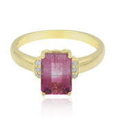 14K Bi Colour Tourmaline Gold Ring