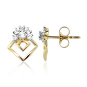 9K SI Diamond Gold Earrings