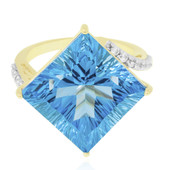 9K Marambaia Topaz Gold Ring